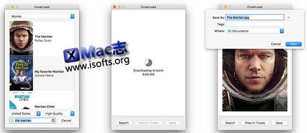 [Mac]从iTunes Store下载各种资源封面 : CoverLoad