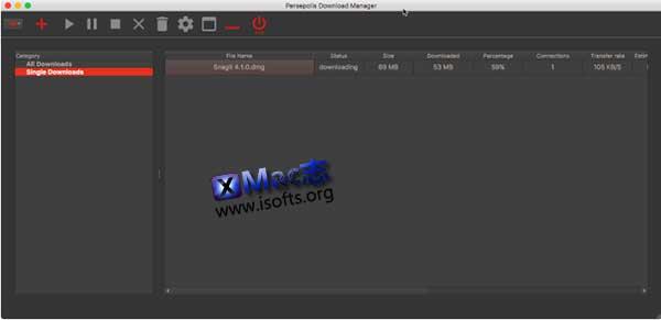 [Mac]支持aria2的下载软件 : Persepolis Download Manager