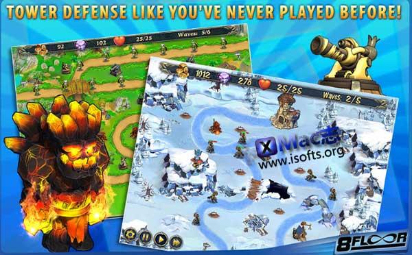 [Mac]塔防类游戏 : Royal Defense(皇家塔防)