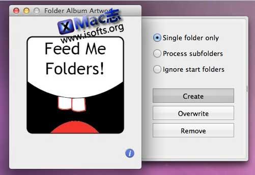 [Mac]音乐专辑文件夹封面在线匹配设定工具 : Folder Album Artwork