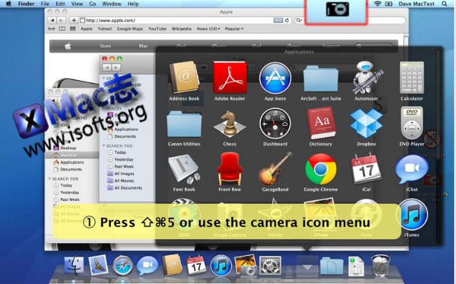 [Mac]截图并自动转换成PSD格式 : ScreenShot PSD
