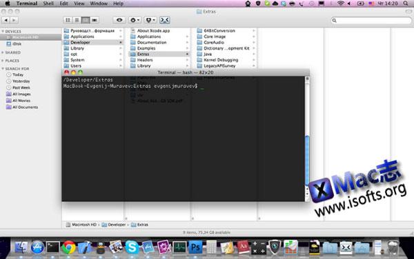 [Mac]从Finder直接打开终端 : Go2Shell