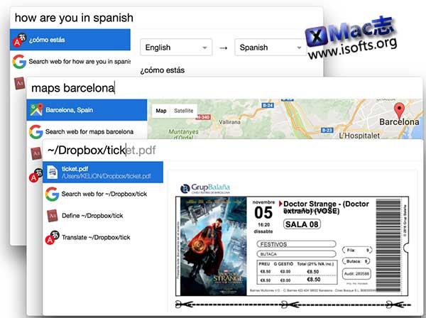 [Mac]支持预览的桌面搜索工具 : Cerebro