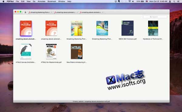 [Mac]支持多标签的PDF阅读器 :PDFNut
