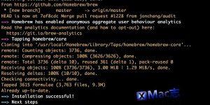 [Mac] Homebrew : macOS 缺失的软件包管理器