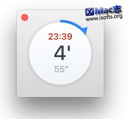 [Mac]简单纯粹的倒计时软件 : Timer App