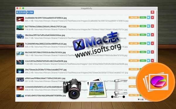 [Mac]图片压缩优化软件 : ImageMinify