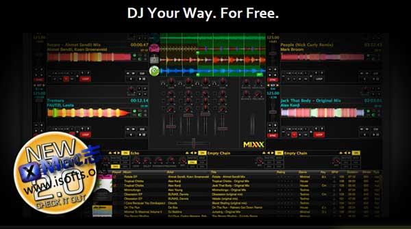 [Mac]免费专业的DJ混音软件 : Mixxx