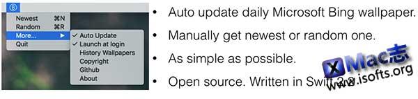 [Mac]自动下载Bing壁纸的工具 : BingWallPaper