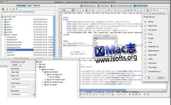 [Mac]代码编辑器 : EditRocket