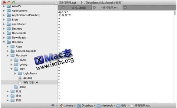 [Mac]更好的Vim文本编辑器 : VimR