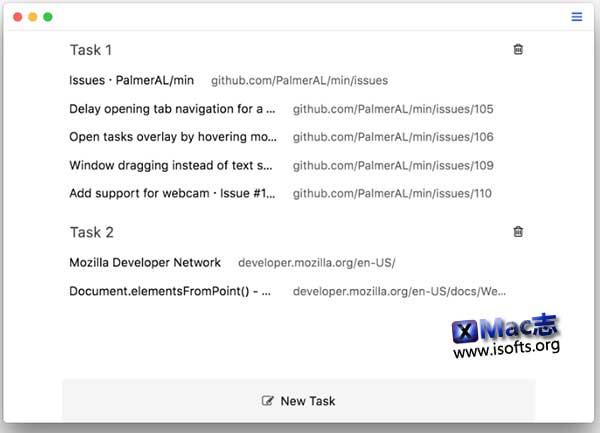 [Mac]小巧智能的网络浏览器 :Min