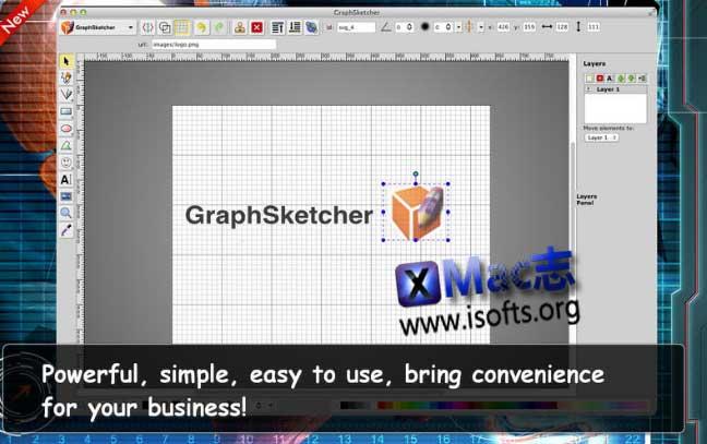 [Mac]图形设计绘制工具 : GraphSketcher