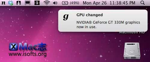 [Mac]独立显卡与集成显卡之间的控制切换工具 : gfxCardStatus