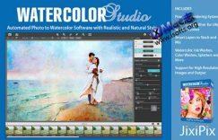 [Mac]将照片转化成水彩画的工具 : Watercolor Studio