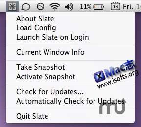 [Mac]可用JavaScript写配置的窗口管理器 : Slate