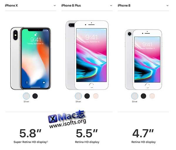 iPhone8/iPhone8 Plus/ iPhone X 各国售价全收集