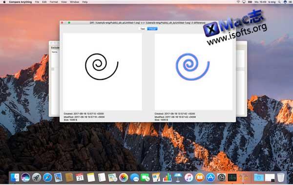 [Mac]方便高效的文件及文件夹对比工具:Compare Anything