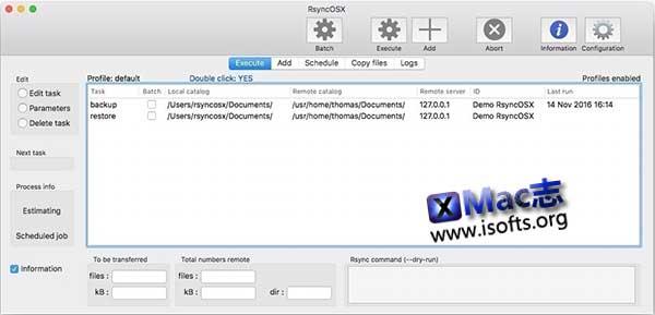 [Mac]基于Rsync的同步备份客户端 :RsyncOSX