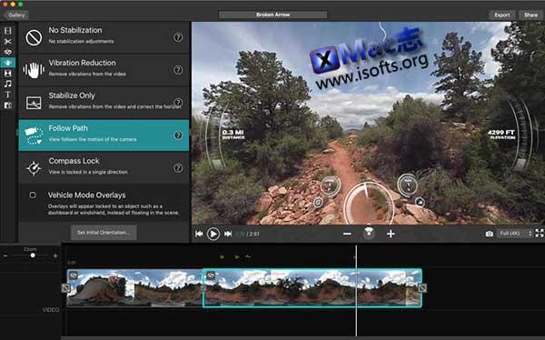 [Mac]将GPS等信息加入到VIRB视频的工具 : Garmin VIRB Edit
