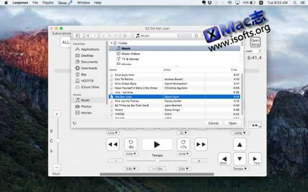 [Mac]音乐慢速播放及自定义重播工具 :Loopman