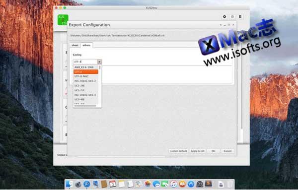 [Mac]Excel的xls文件转csv文件转换工具 : XLS2csv