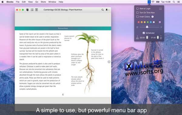 [Mac]显示器亮度色温等显示效果调整工具 :NightTone