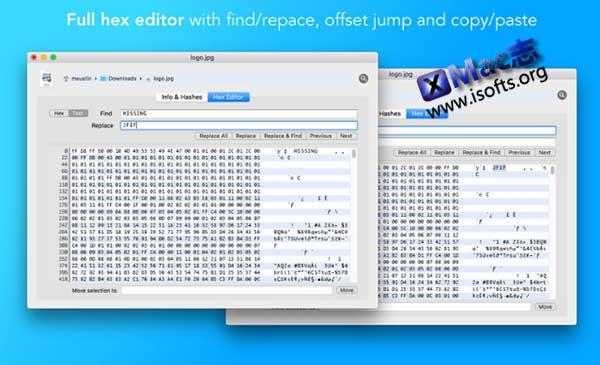 [Mac]十六进制编辑器 : File Peek