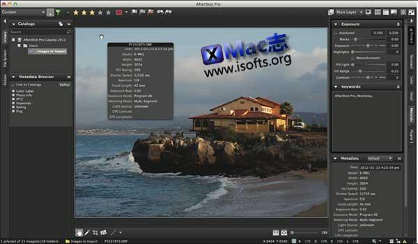 [Mac]专业级的RAW照片转换器 : PictureCode Photo Ninja