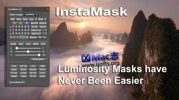 [Mac] PS全新蒙板生成器 : InstaMask