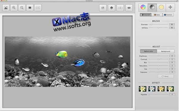 [Mac]图像处理工具 : ColorFun趣图