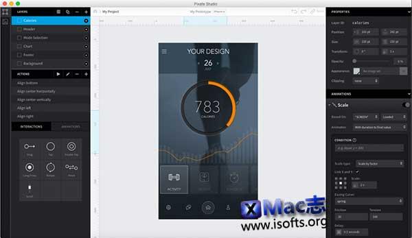 [Mac]移动原型交互设计工具 : Pixate Studio