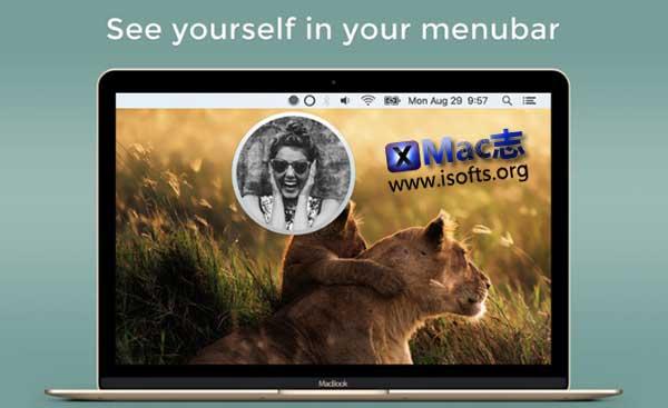 [Mac]菜单栏的前置摄像头取景软件 : Pearl