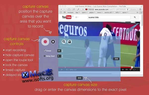 [Mac]专业高效的屏幕录像软件 : Shedworx Smart Recorder