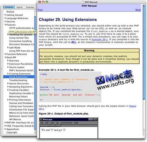 [Mac] CHM阅读器 : Chmox