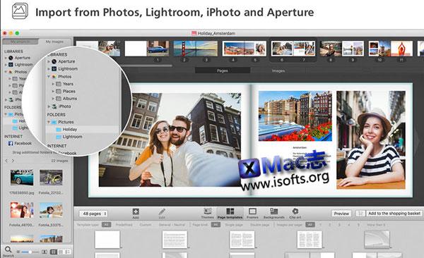 [Mac]相册设计制作工具 : Ifolor Mac Designer