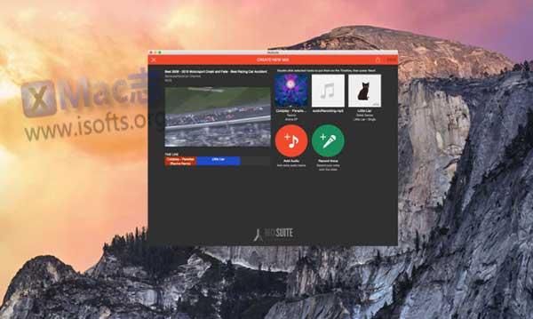 [Mac]视频剪辑拼接及混音工具 : MixSuite