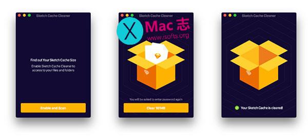 [Mac] Sketch缓存清理工具 : Sketch Cache Cleaner