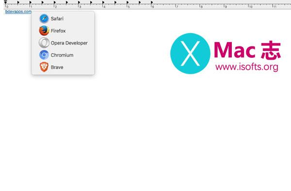 [Mac]根据需求使用不同的浏览器打开链接 : Browser ChooserX