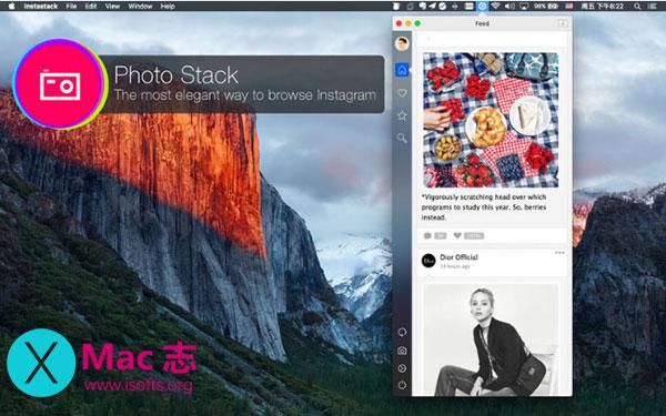 [Mac] Instagram客户端工具 : PhotoStack