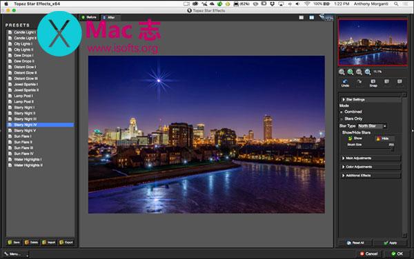 [Mac] PS闪光/太阳光/星光滤镜特效插件 : Topaz Star Effects
