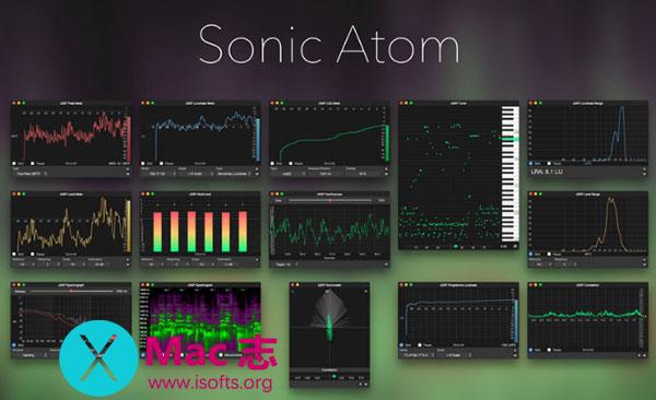 [Mac]实时音频分析工具 : Sonic Atom