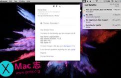 [Mac]邮件菜单栏功能扩展工具 : Mail Satellite