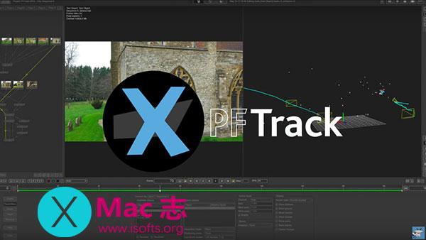 [Mac]成象物体跟踪软件 : The Pixel Farm PFTrack