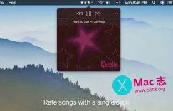 [Mac] 菜单栏iTunes音乐快速评分工具 : Stars