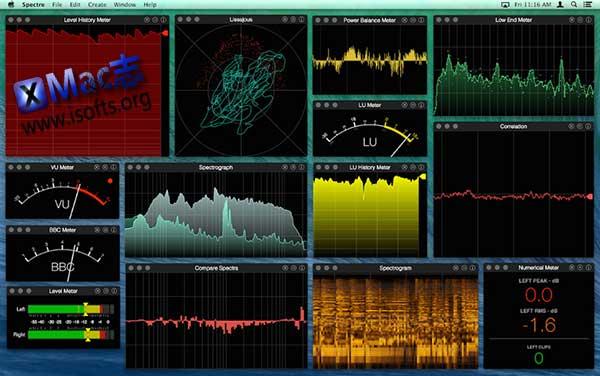[Mac]实时音频仪分析工具 : Audiofile Spectre