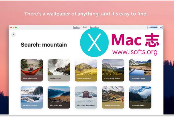 [Mac]壁纸下载及自动定时壁纸更换工具 : Wallpaper Wizard