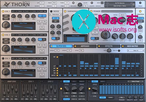 [Mac]音频合成器工具 : Dmitry Sches Thorn