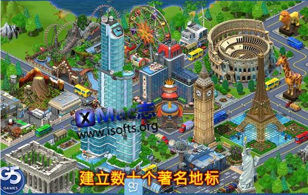 [Mac] 虚拟城市(Virtual City Playground) : 模拟经营类游戏