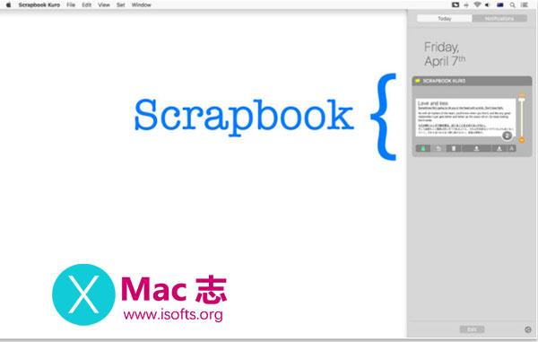 [Mac]剪贴板增强工具 :Scrapbook Kuro